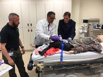 blumenthal-takes-part-in-demonstration-of-protocol-aimed-at-increasing-survivability