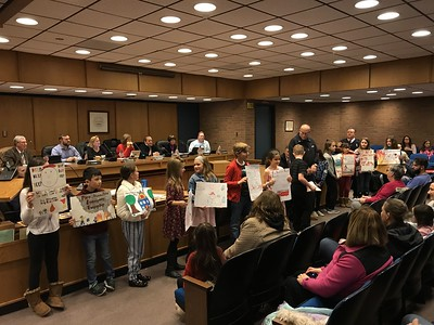 plainville-council-honors-winners-of-fire-prevention-contest