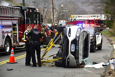 car-rolls-over-after-collision-in-southington