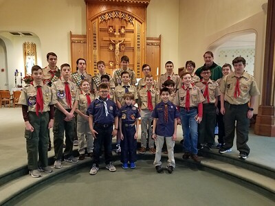 berlin-troops-celebrate-scout-sunday-tradition-that-started-in-1940s