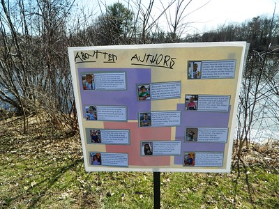 newington-preschoolers-create-story-wall-at-mill-pond-to-learn-about-animals