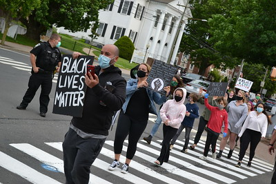 hundreds-of-protestors-gather-on-southingtons-town-green-calling-for-an-end-to-racism