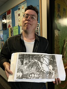 new-britain-mans-worlds-of-fantasy-on-exhibit-at-library