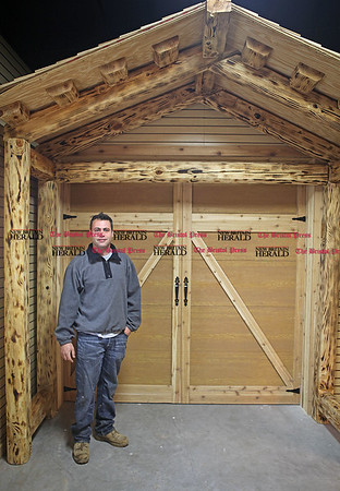 Chris Richie | Staff Owner Paul Bucchi at the new Snow White Power Equipment building at 154 Town Line Rd. in Southington. (12/13/10)