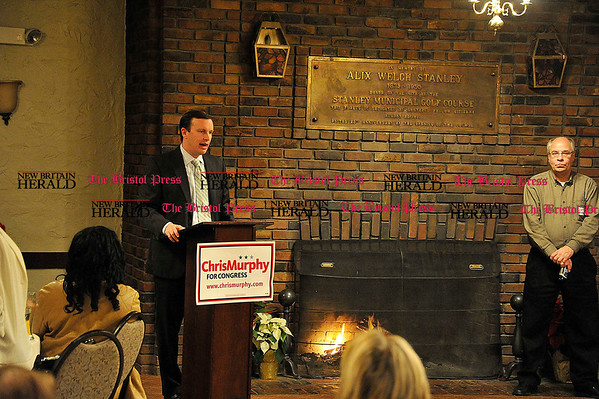 Rob Heyl Rep. Chris Murphy thanks his supporters. 12.13.10 for 12.14.10