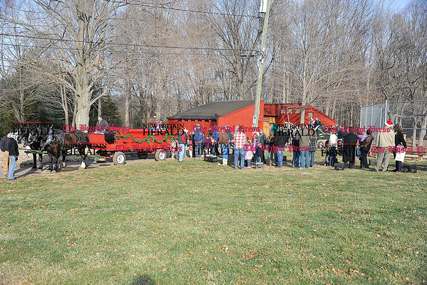 Rob Heyl; Loading the wagons for a hay ride. 12.11.10 for 12.12.10