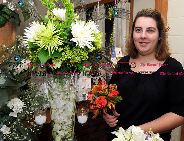 10/8/2010 Mike Orazzi | Staff Kelly Daly at The Flower Girl in Southington.