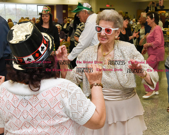 042017 Wesley Bunnell | Staff New Britain TRIAD held their 19th Annual Senior Prom with a Casino theme at New Britain High School on Thursday evening.