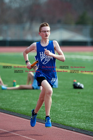 4/11/2017 Mike Orazzi | Staff Bristol Eastern's Aidan Krok during Tuesday meet at Bristol Eastern.