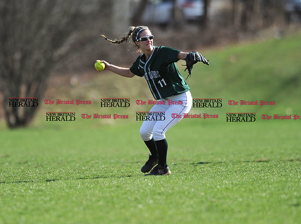 4/13/2017 Mike Orazzi | Staff Northwest Catholic's Maggie Hoffman (11) in Bristol.