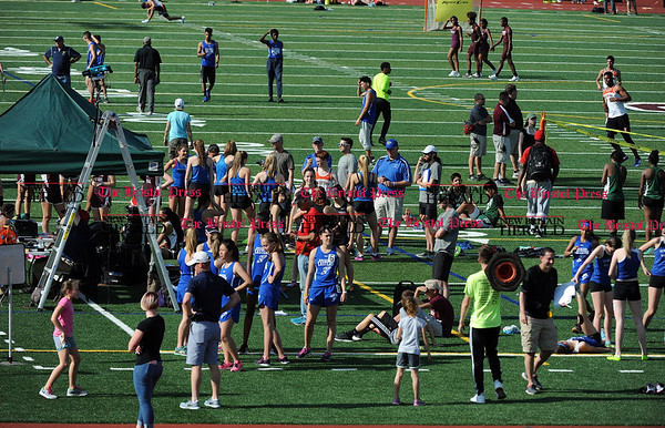 4/28/2017 Mike Orazzi | Staff The Bristol Central Invitational Track Meet in Bristol Friday.