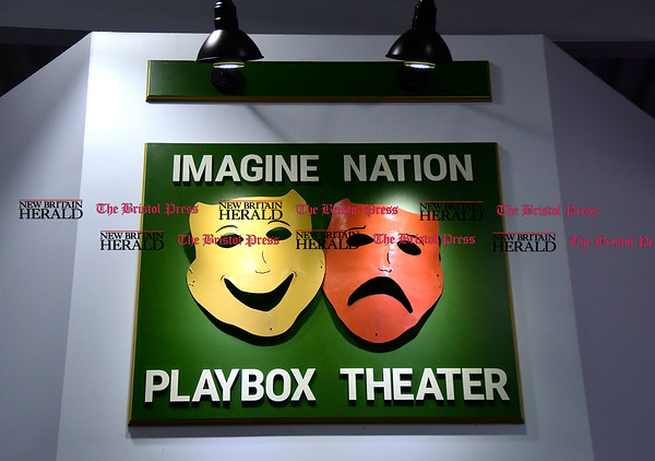 4/6/2017 Mike Orazzi | Staff The Grand Opening of the Playbox Theater Studio at the Imagine Nation, a Museum Early Learning Center, Thursday morning.