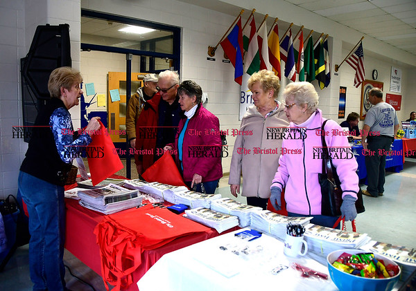 4/7/2017 Mike Orazzi | Staff The Bristol Press & New Britain Herald and Connecticut Prime Time's 3rd Annual Senior Fair held at Bristol Eastern High School Saturday.