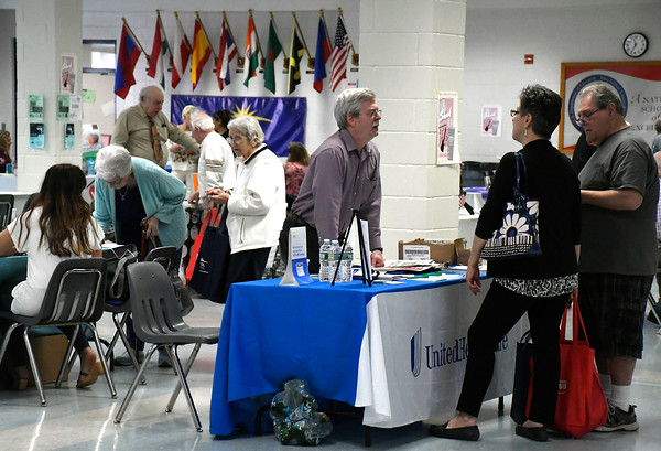 4/14/2018 Mike Orazzi | Staff The 4th annual Prime Time Senior Fair held at Bristol Eastern High School Saturday.