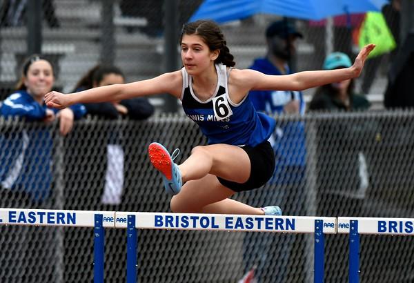 4/27/2018 Mike Orazzi | Staff The Bristol Eastern High School track invitational held on Friday.