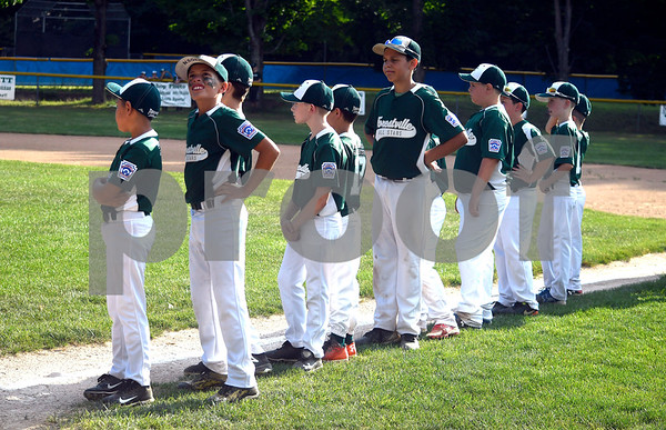8/1/2017 Mike Orazzi | Staff Members of the Forestville Little League team during the Bob Watson Little League tournament held at Peck Park Tuesday at the Forestville Little League.