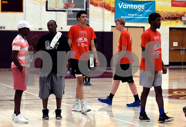 8/19/2017 Mike Orazzi | Staff The Osgood Shootout at New Britain High School Saturday.