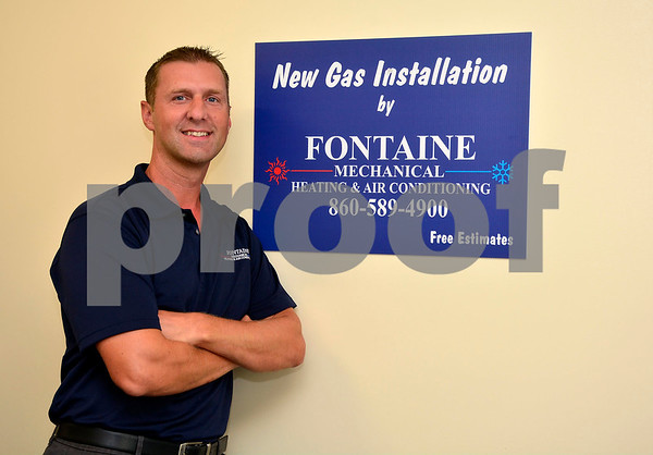 9/2/2015 Mike Orazzi | Staff Bill Fontaine at Fontaine Mechanical.