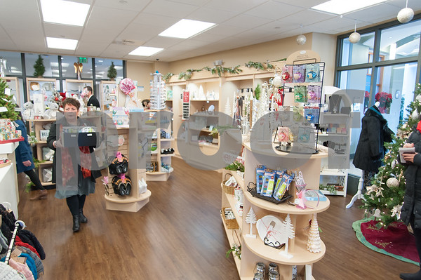 12/13/17 Wesley Bunnell | Staff The Hospital for Special Care held a ribbon cutting for their gift shop now run by Good Cause Gifts on Wednesday at noon. Good Cause Gifts provides training and employment to individuals with disabilities.