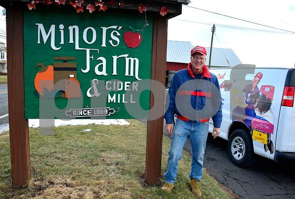 12/19/2017 Mike Orazzi | Staff Paul Minor at Minor's Farm in Bristol.