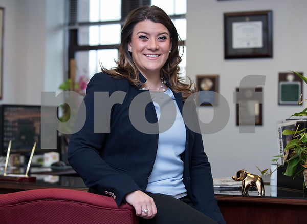 02/02/18 Wesley Bunnell | Staff Mayor Erin Stewart in her office in City Hall on Thursday Feb 1.