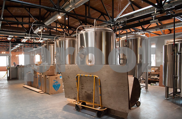 02/02/18 Wesley Bunnell | Staff Five Churches Brewery located at 193 Arch St. is putting the finishing touches in preparation of its opening.