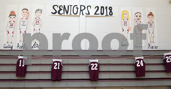 02/12/18 Wesley Bunnell | Staff Bristol Central vs Bristol Eastern on Senior Night at Bristol Central High School.