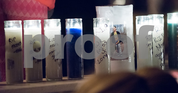 01/26/18 Wesley Bunnell   Staff A candle light vigil was held for 18 year old Moses Negron on Friday evening outside of New Britain High School Satellite Careers Academy where Negron was a student. Negron was one of three killed in a rollover crash on I91 at 7:30am last Sunday morning.