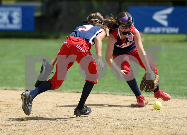 072617 Wesley Bunnell | Staff New York defeated Pennsylvania in a 2017 Little League Softball Eastern Regional Tournament game on Wednesday afternoon.