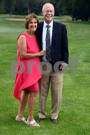 7/8/2017 Mike Orazzi | Staff Janet and Don Jacobson during the 100th Anniversary Gala for the Shuttle Meadow Country Club held Saturday evening at the club.