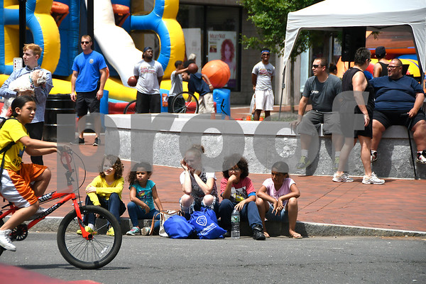 7/8/2017 Mike Orazzi | Staff The 4th Annual Bike Safety Day in downtown New Britain Saturday.