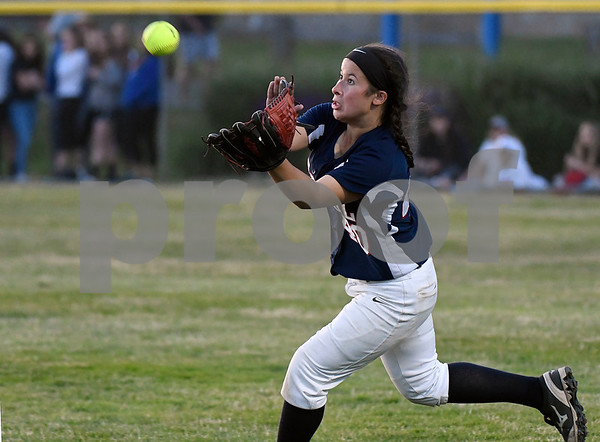 6/9/2017 Mike Orazzi   Staff St. Paul Catholic's Katrina Roy (40) during the Class S Final held at West Haven High School Friday night.