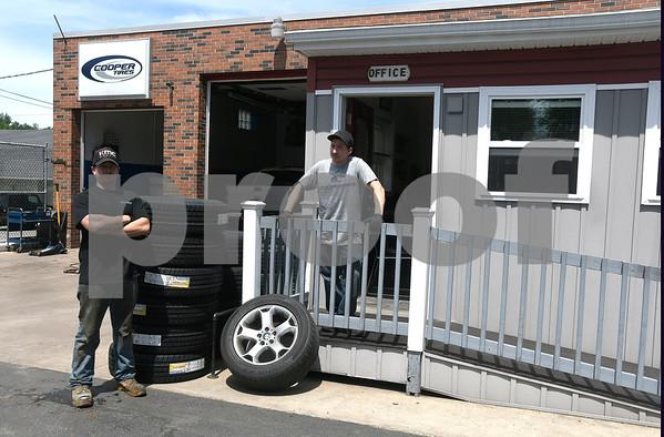 6/9/2017 Mike Orazzi   Staff Tire Depot in Bristol.