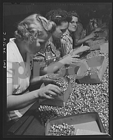061417 Submitted photos from Stanley Submitted photos from Stanley Black & Decker's archives. Women in the Stanley plant inspect bullet jacks for defectives surfaces in 1943.