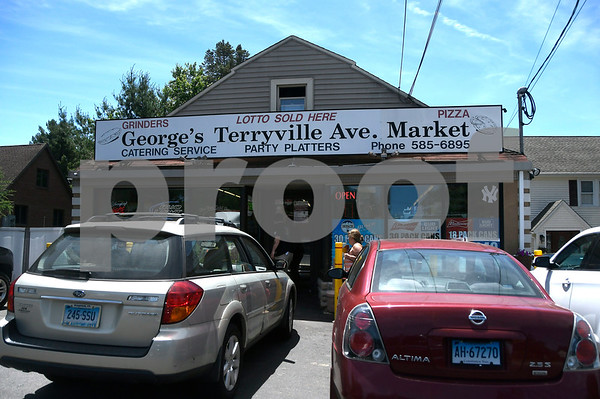 6/14/2017 Mike Orazzi | Staff George's Terryville Market on Route 6.