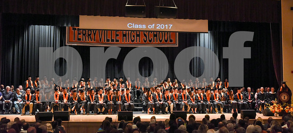 062117 Wesley Bunnell | Staff Terryville High School held their Class of 2017 Commencement on Wednesday evening.