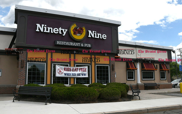 6/1/2017 Mike Orazzi | Staff The Ninety Nine Restaurant in Bristol.