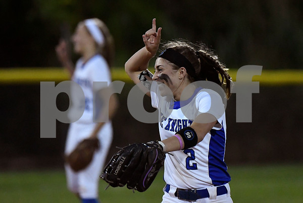 6/8/2017 Mike Orazzi | Staff Southington's Michelle Woodruff (2) during a win over Cheshire in the Class LL final a Deluca Field in Stratford Thursday night.