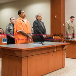 031816   Wesley Bunnell | Staff  Joshua Daniels was sentenced to 20 years in prison for the stabbing death of Joey Klett in New Britain Superior Court.  Daniels is shown with attorney Gerald ...