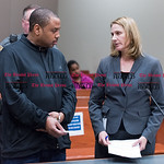 032316   Wesley Bunnell   Staff  William Hudson was arraigned in New Britain Superior Court on charges of assault on police and motor vehicle violations.