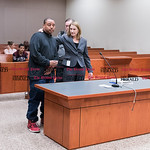 032316   Wesley Bunnell   Staff  William Hudson was arraigned in New Britain Superior Court on charges of assault on police and motor vehicle violations.  Hudson is shown after just arriving ...