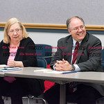 030816   Wesley Bunnell | Staff  New Britain Republicans met to elect new officers. The position of Chairman was postponed to a future date. Peter Gostin on right.