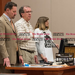031816   Wesley Bunnell | Staff  Joshua Daniels was sentenced to 20 years in prison for the stabbing death of Joey Klett in New Britain Superior Court.  Joey Klett's uncle Michael Cunningham ...