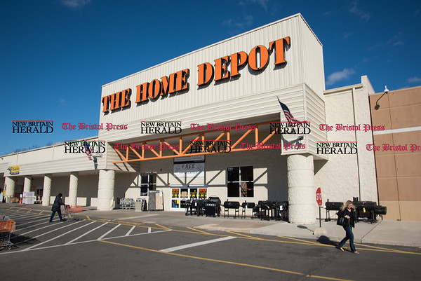 030217 Wesley Bunnell | Staff Home Depot located at 295 Berlin Turnpike.