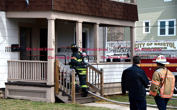 3/29/2017 Mike Orazzi   Staff Thursday afternoon may have been fire caused by an alleged drug factory explosion on Harrison Street.