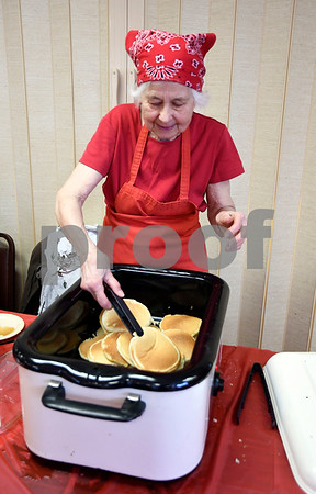 3/10/2018 Mike Orazzi | Staff Ruth Day during the New Britain Youth Museum at Hungerford Park's Annual Maple Sugaring and Pancake Breakfast fundraiser Saturday in Kensington.