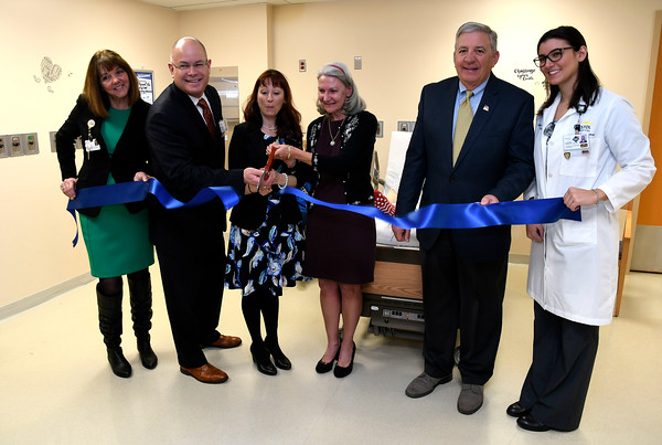 3/22/2018 Mike Orazzi   Staff Bristol Hospital's ribbon cutting event for its new nursing simulation room on Level B of the hospital's Center for Surgery and Endoscopy.