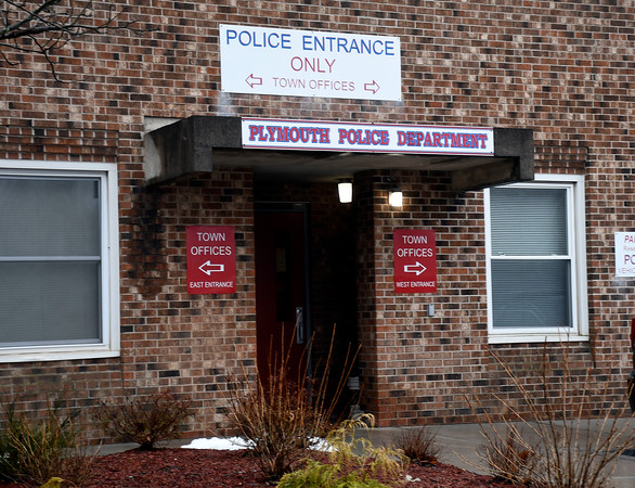 4/4/2018 Mike Orazzi | Staff The Plymouth Police Station.