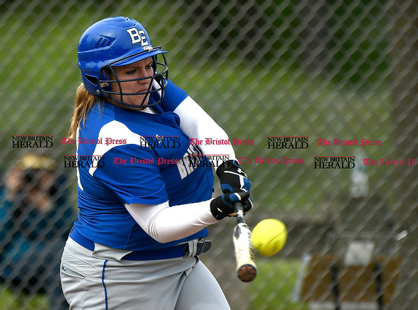 5/23/2017 Mike Orazzi | Staff Bristol Easterns Mikayla Martin (18) Tuesday at Eastern.