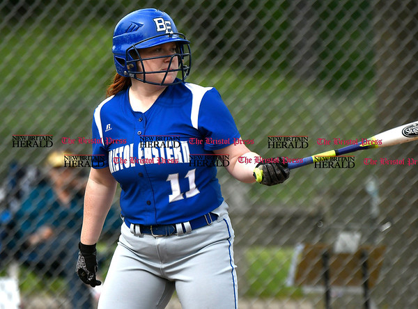 5/23/2017 Mike Orazzi | Staff Bristol Easterns Nicole D'Amato (11)Tuesday at Eastern.